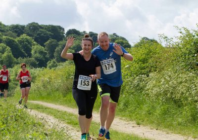 Top of the Wolds 10k Runners