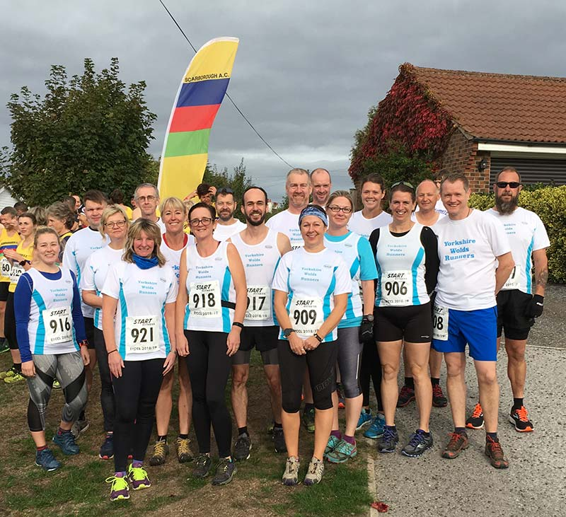Yorkshire Wolds Runners group shot